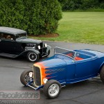 These 1932 Ford street rods were built by Hank.