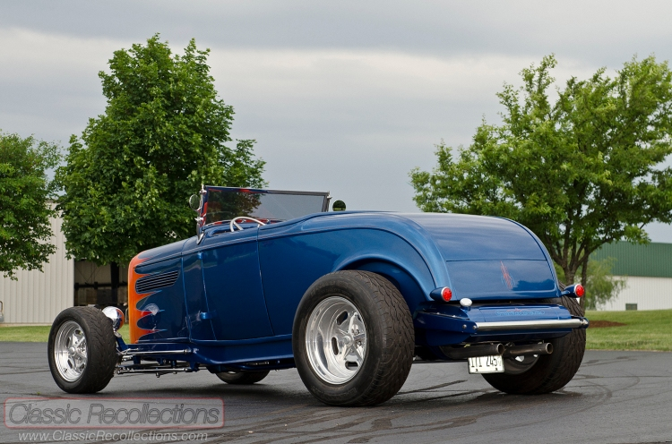 These 1932 Ford street rods were built by Hank Groves.