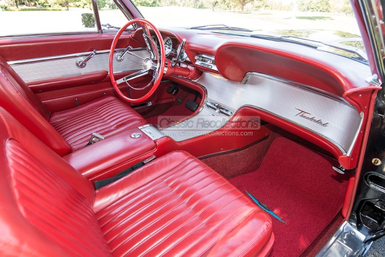 The current owner's father of this 1962 Ford Thunderbird purchased the car in 1966.