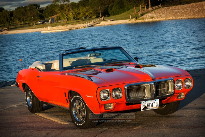This 1969 Pontiac Firebird 400 was found in Washington.