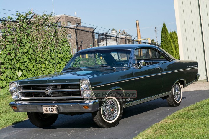 This 1966 Ford Fairlane 500 was purchased new in Crystal Lake, IL.