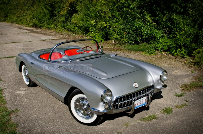 This 1957 Chevrolet Corvette was purchased in the early 1970s.