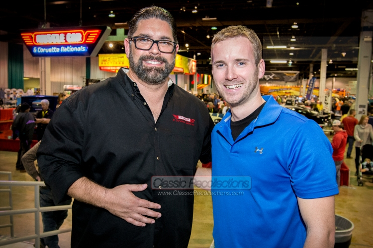 Matt Avery with Discovery Channel's Auto TV star of 'Highway to Sell', Dennis Pittsenbarger.