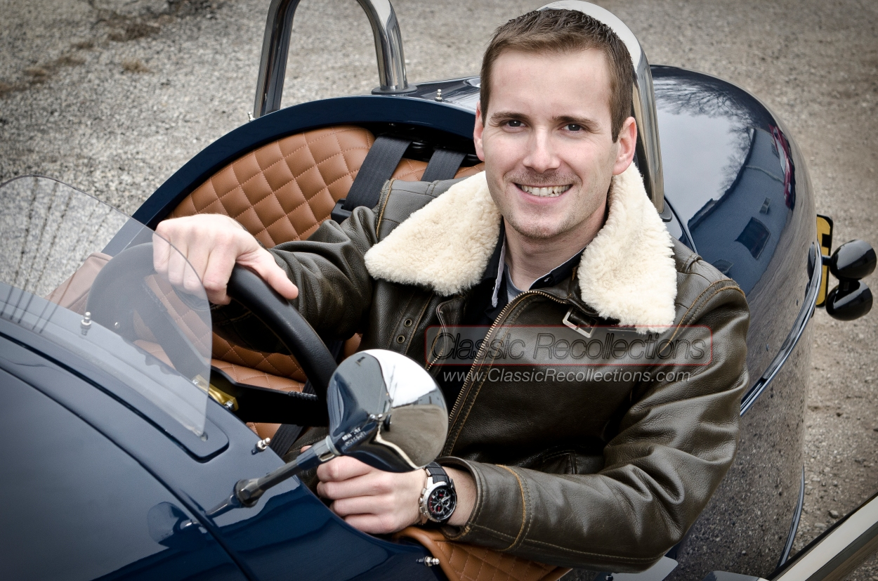 Chicago Classic car media producer, Matt Avery.