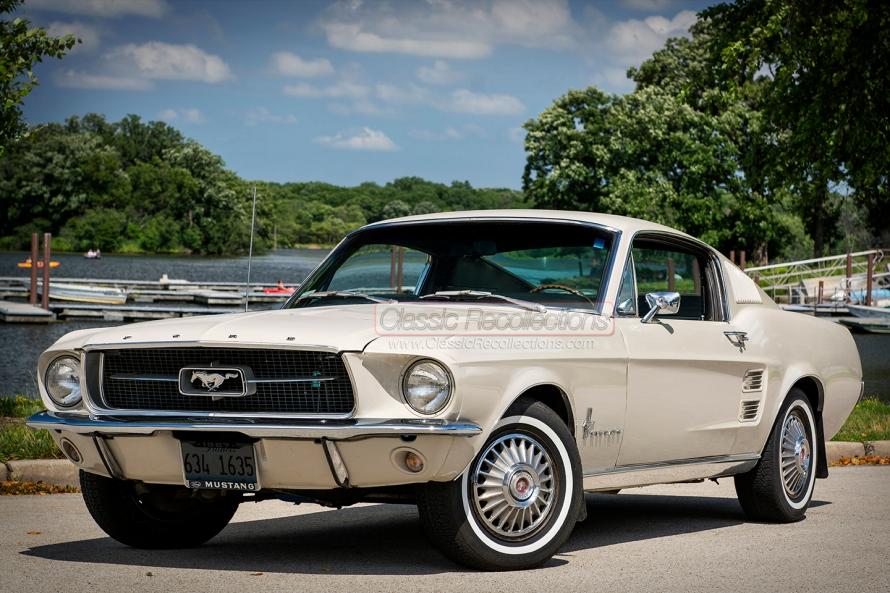 Original owner 1967 Ford Mustang.