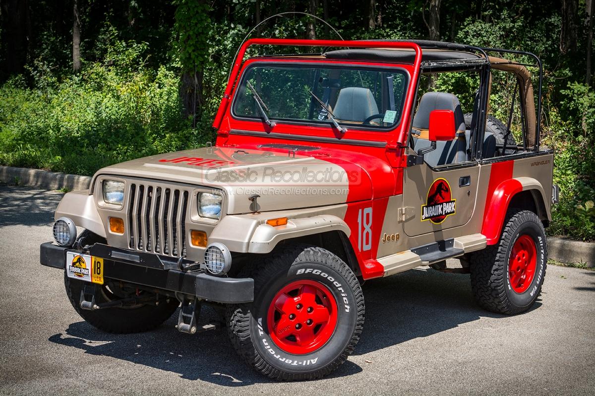 1994 Jeep Wrangler ' Jurrasic Park'