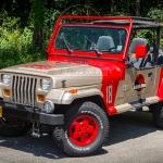 1994 Jeep Wrangler 'Jurassic Park' replica