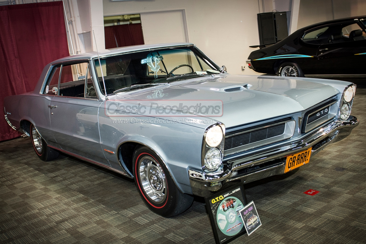 This 1965 Pontiac GTO was on display at the 2014 Indian Uprising All Pontiac Weekend car show.