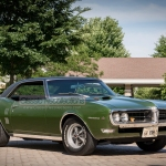 Chet Kumm purchased this 1968 Pontiac Firebird Ram Air IV new.
