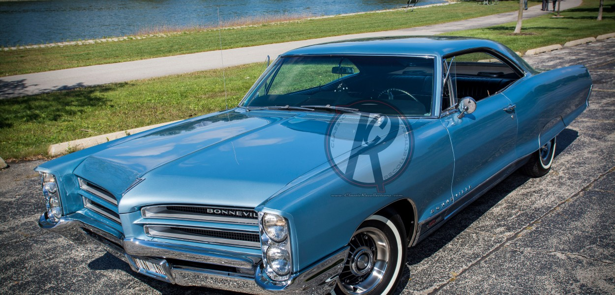 This 1966 Pontiac Bonneville spent time commuting to Edwards Air Force Base in California.