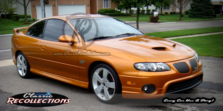 This 2006 Pontiac  GTO was featured in the film 2014 'Jupiter Ascending'.