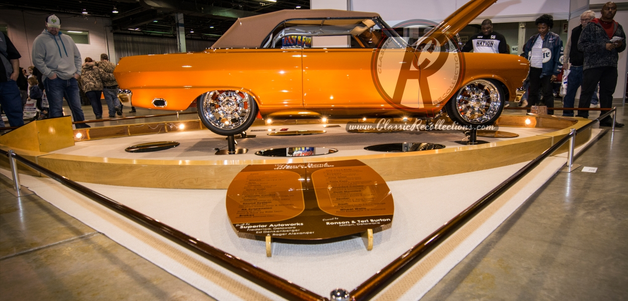 Dazzling displays at the 2015 World of Wheels.