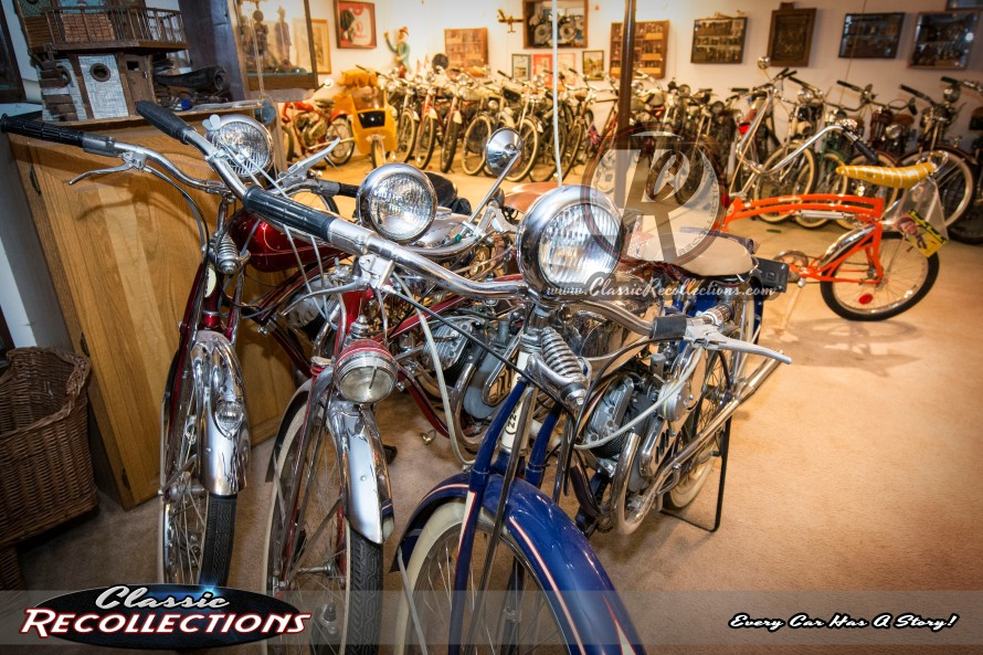 Whizzer bicycle engine collections