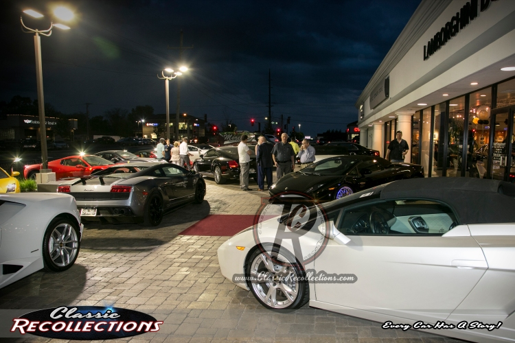 Perillo Bentley & Lamborghini VIP Reception