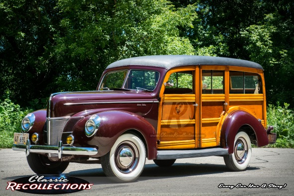 1940 Ford Deluxe Woodie