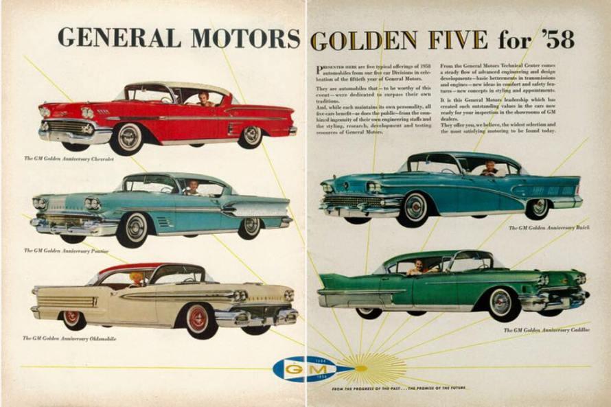 Golden 5 Ad