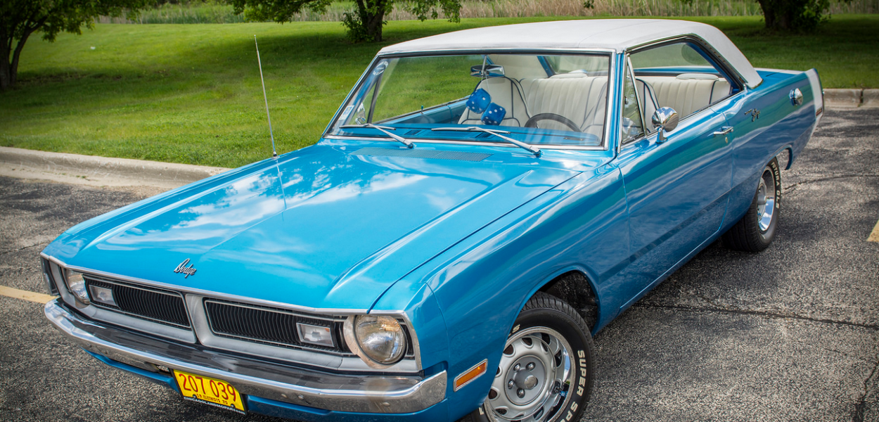 1970 Dodge Dart Swinger B5 Blue