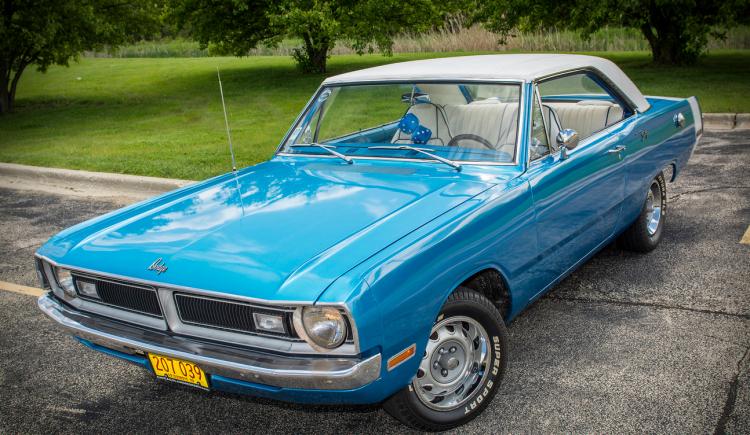 1970 Dodge Dart Swinger B5 Blue