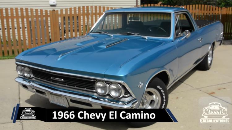 CRTV: 1966 Chevy El Camino